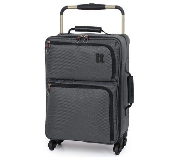 Buy IT Luggage World's Lightest Small 4 Wheel Suitcase at Argos.co ...