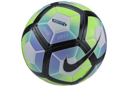 Shop footballs.