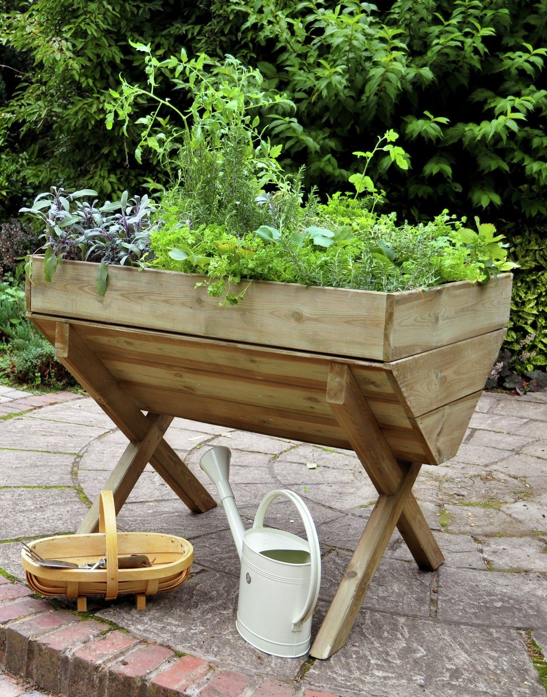 Forest Raised Height Trough Planter. lowest price