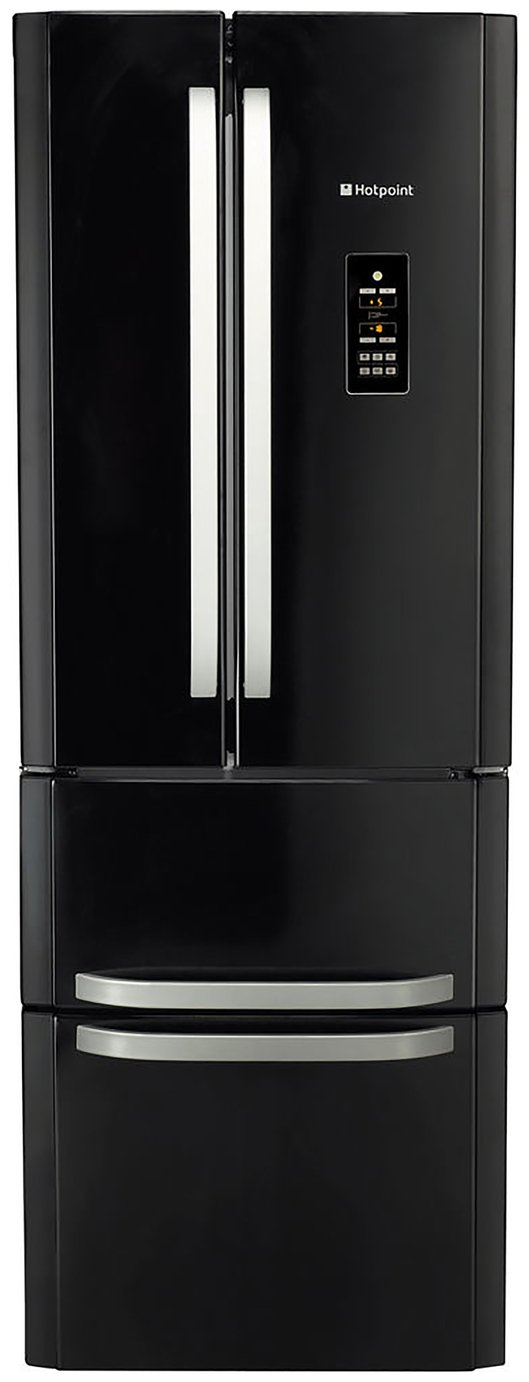 Hotpoint FFU4DGK Fridge Freezer - Black
