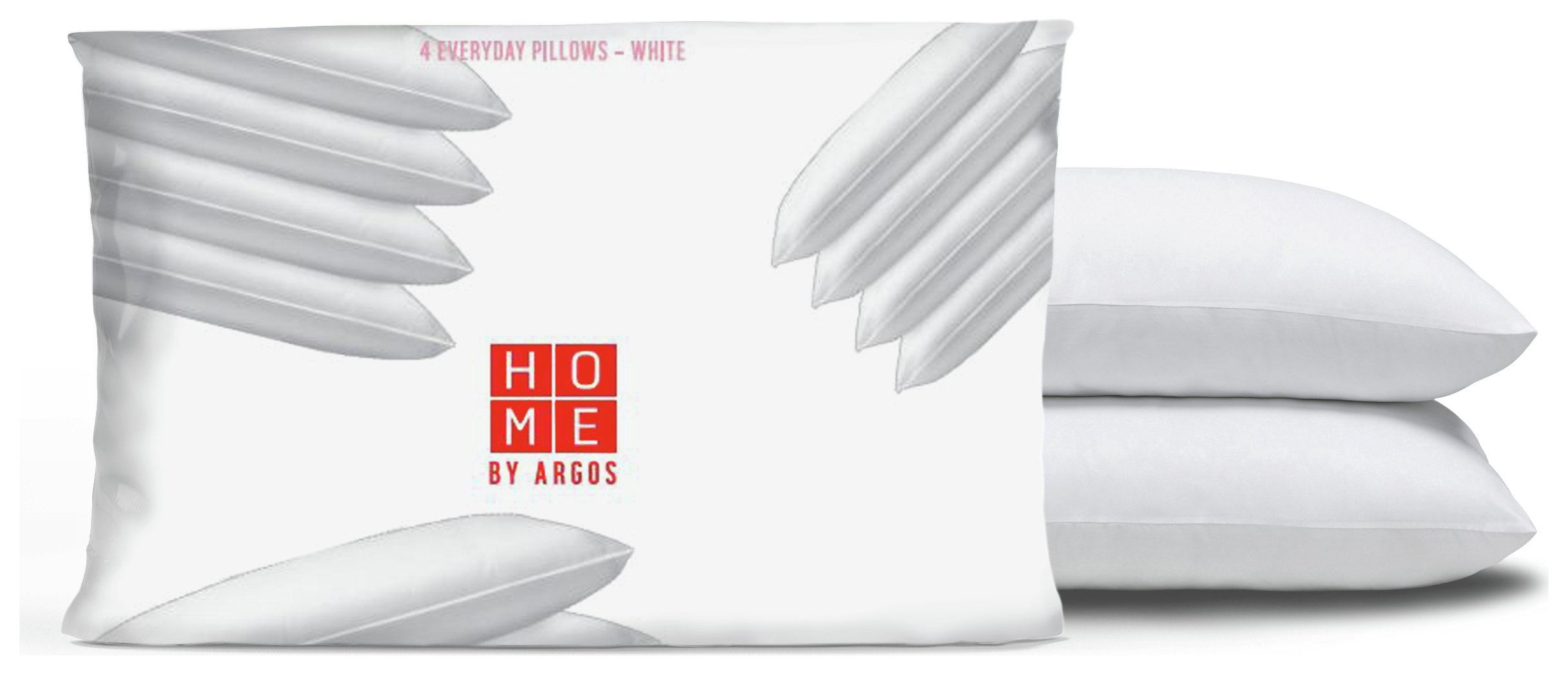Living - Everyday - Soft Touch Anti Allergy Pair of Pillows