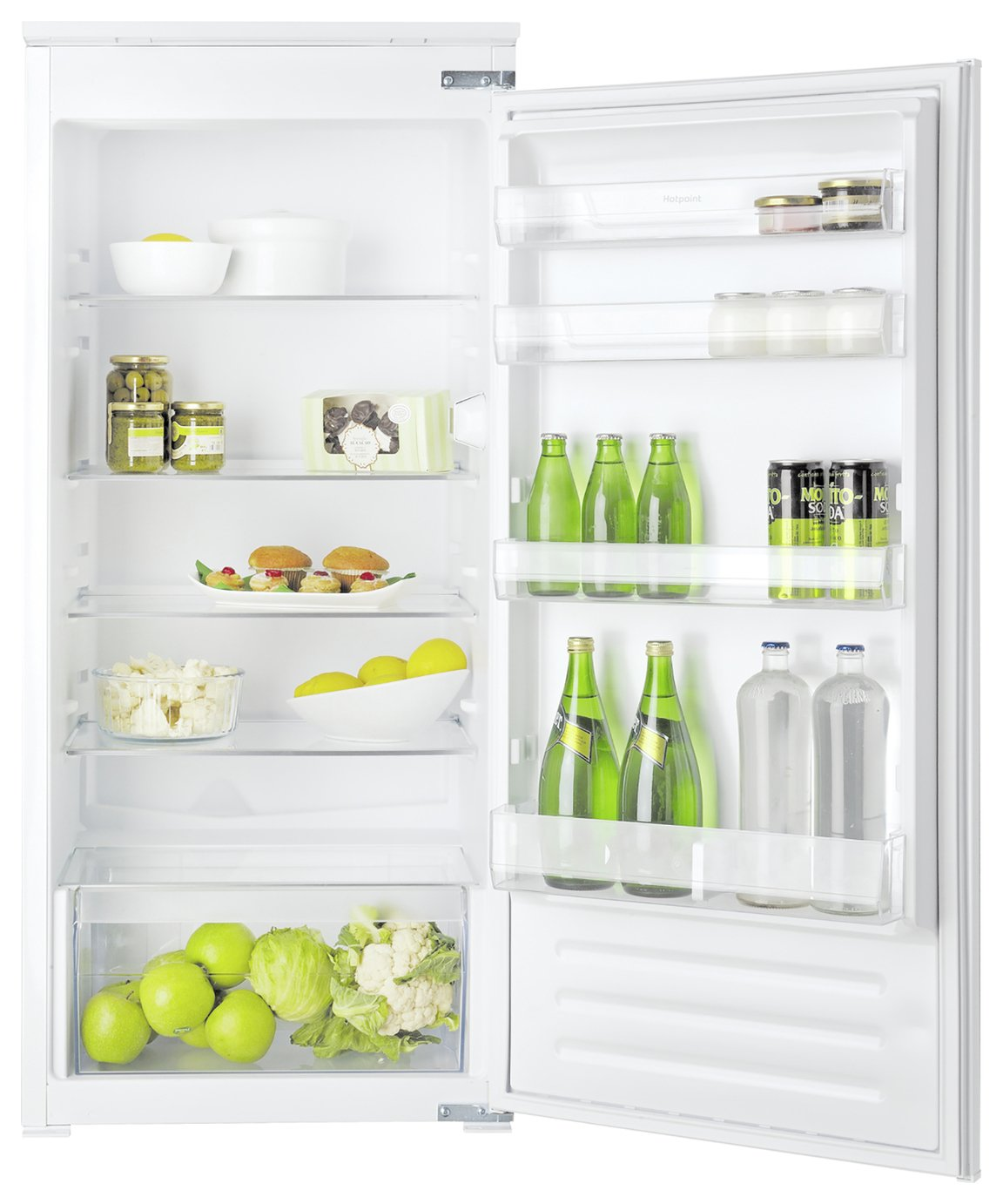 Hotpoint HSZ12A1D Integrated Fridge - White