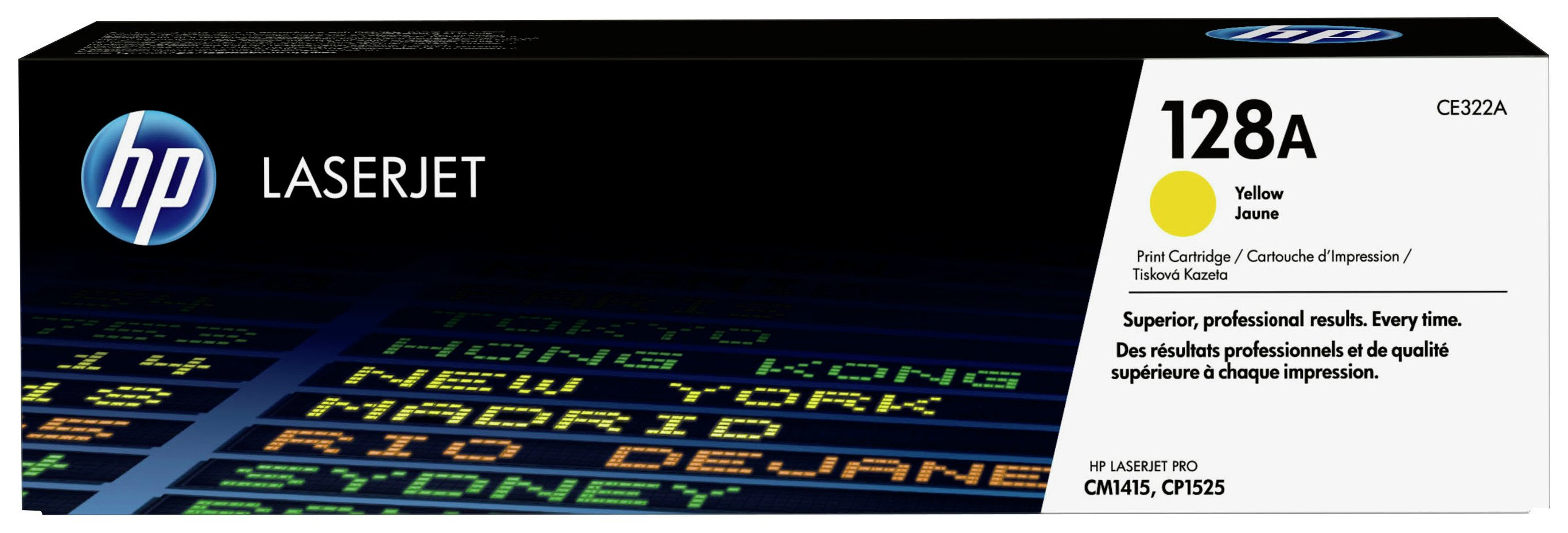 HP - 128A Yellow LaserJet - Toner Cartridge (CE322A)