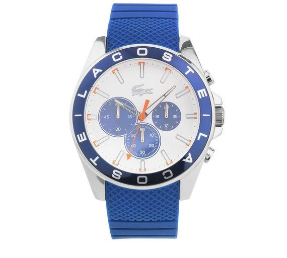 buy lacoste men s westport stainless steel strap watch at argos co lacoste men s westport stainless steel strap watch542 2676