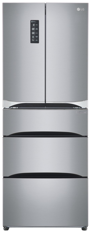 LG GB6140PZQV 5 Multi Door American Fridge Freezer - S/Steel