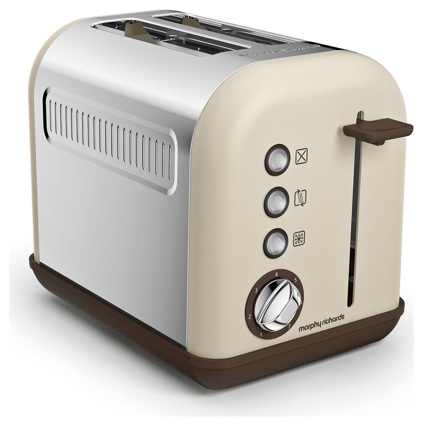 Morphy Richards - Toaster - Accents - 2 Slice - Sand.