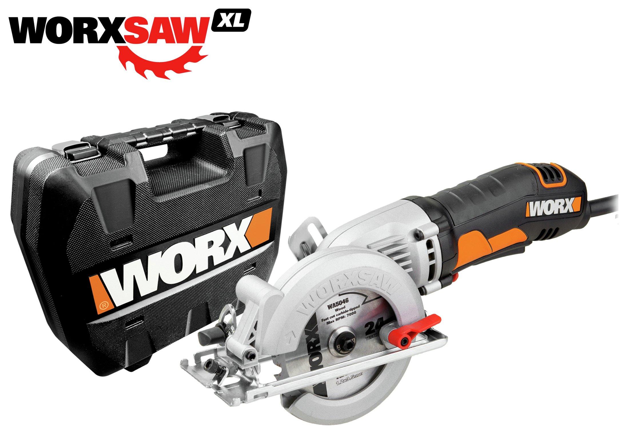 WORX Worxsaw WX429.2 400W Compact Circular Saw