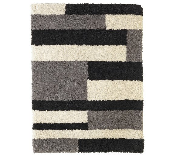 Collection Noble Block Shaggy Rug