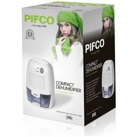 Pifco 500ml Dehumidifier - White.