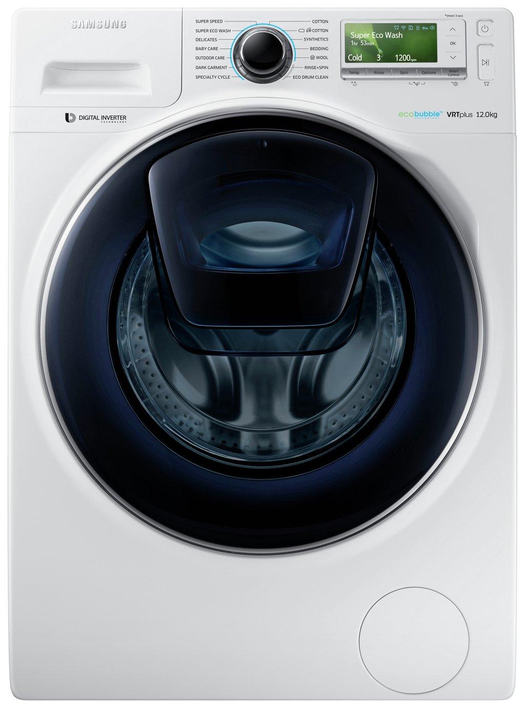 Image of Samsung  AddWash WW12K8412OW 12Kg