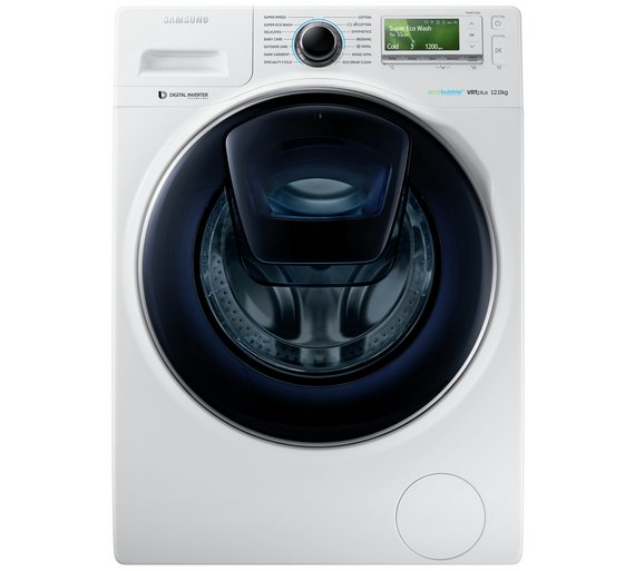 Buy Samsung WW12K8412OW 12KG 1400 Spin Washing Machine ... 3c8e43a00a6a