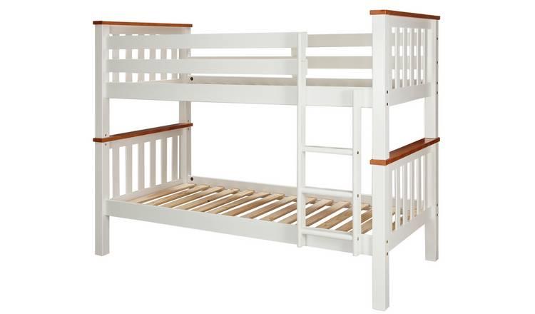Buy Argos Home White Amp Pine Heavy Duty Bunk Bed Frame