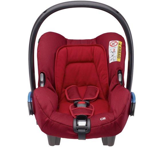 buy maxi cosi citi group 0 black car seat at. Black Bedroom Furniture Sets. Home Design Ideas