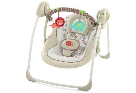 Ingenuity Portable Swing - Cozy Kingdom.