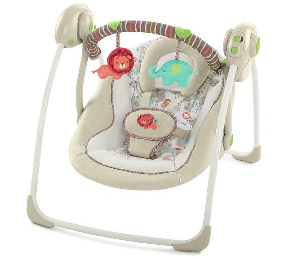 Buy Ingenuity Portable Swing Cozy Kingdom By Ingenuity Baby