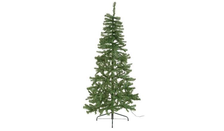 Buy Argos Home 6ft Pre-Lit Half Christmas Tree