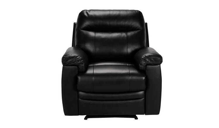 Astonishing Buy Argos Home Paolo Riser Recliner Leather Chair Black Armchairs And Chairs Argos Creativecarmelina Interior Chair Design Creativecarmelinacom
