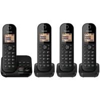 Panasonic Cordless Telephone with Answer Machine (Quad)