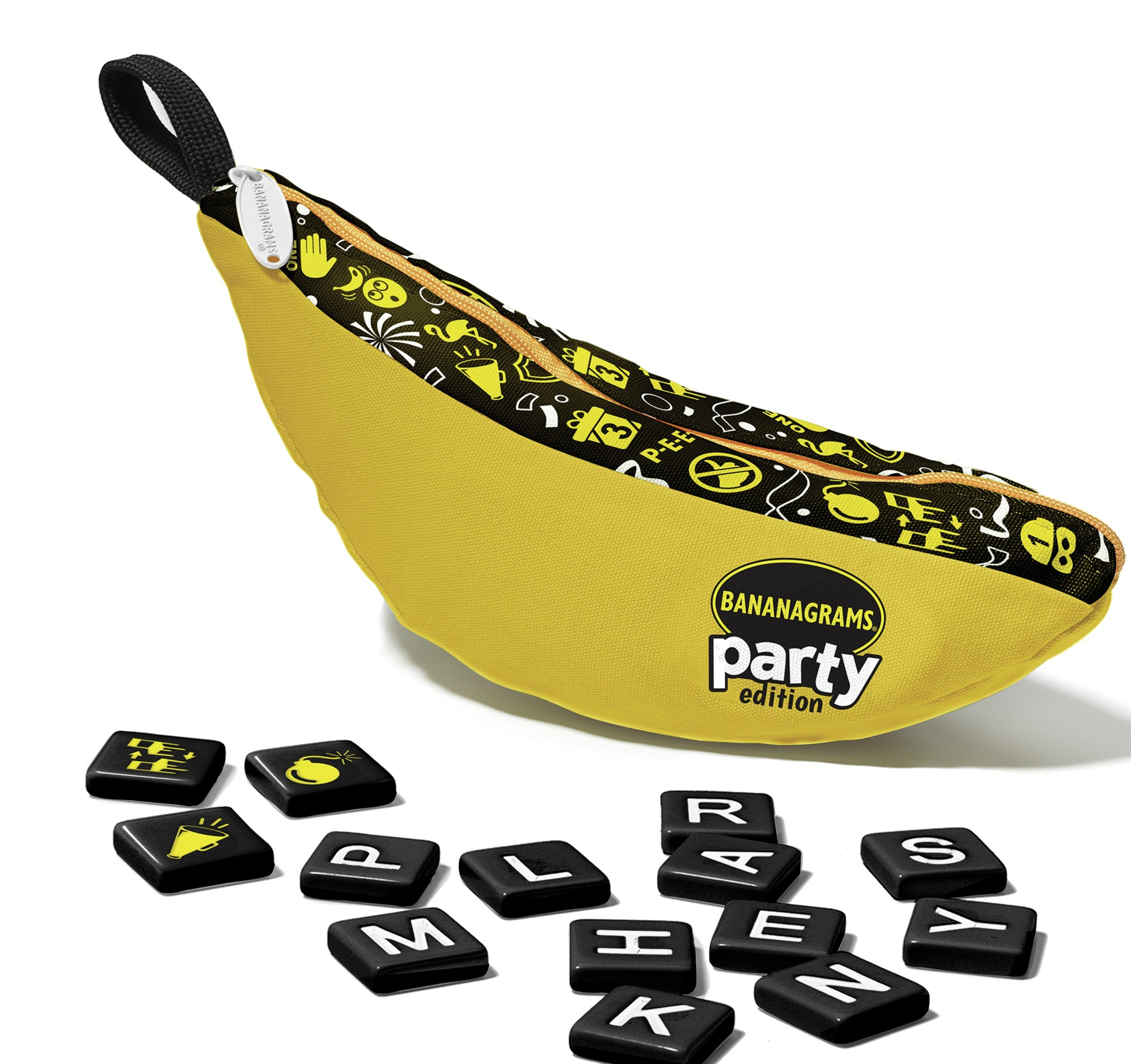 Image of Bananagrams Party Word Game.
