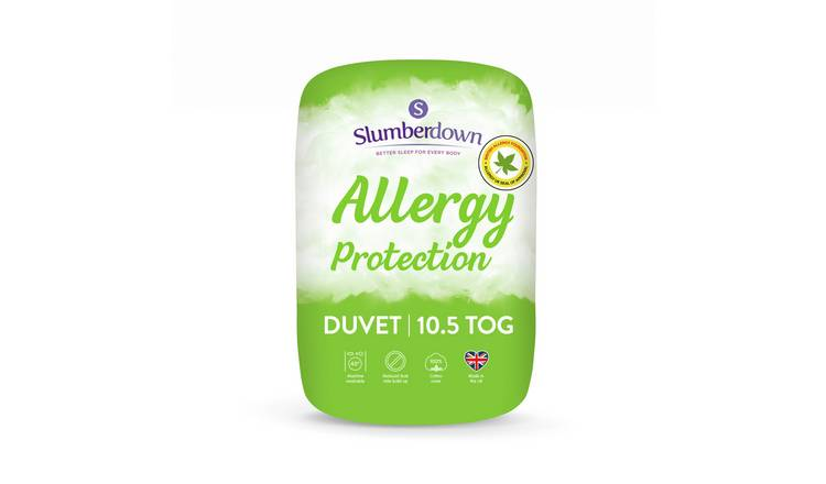 Slumberdown Allergy Protection 10.5 Tog Duvet - Double