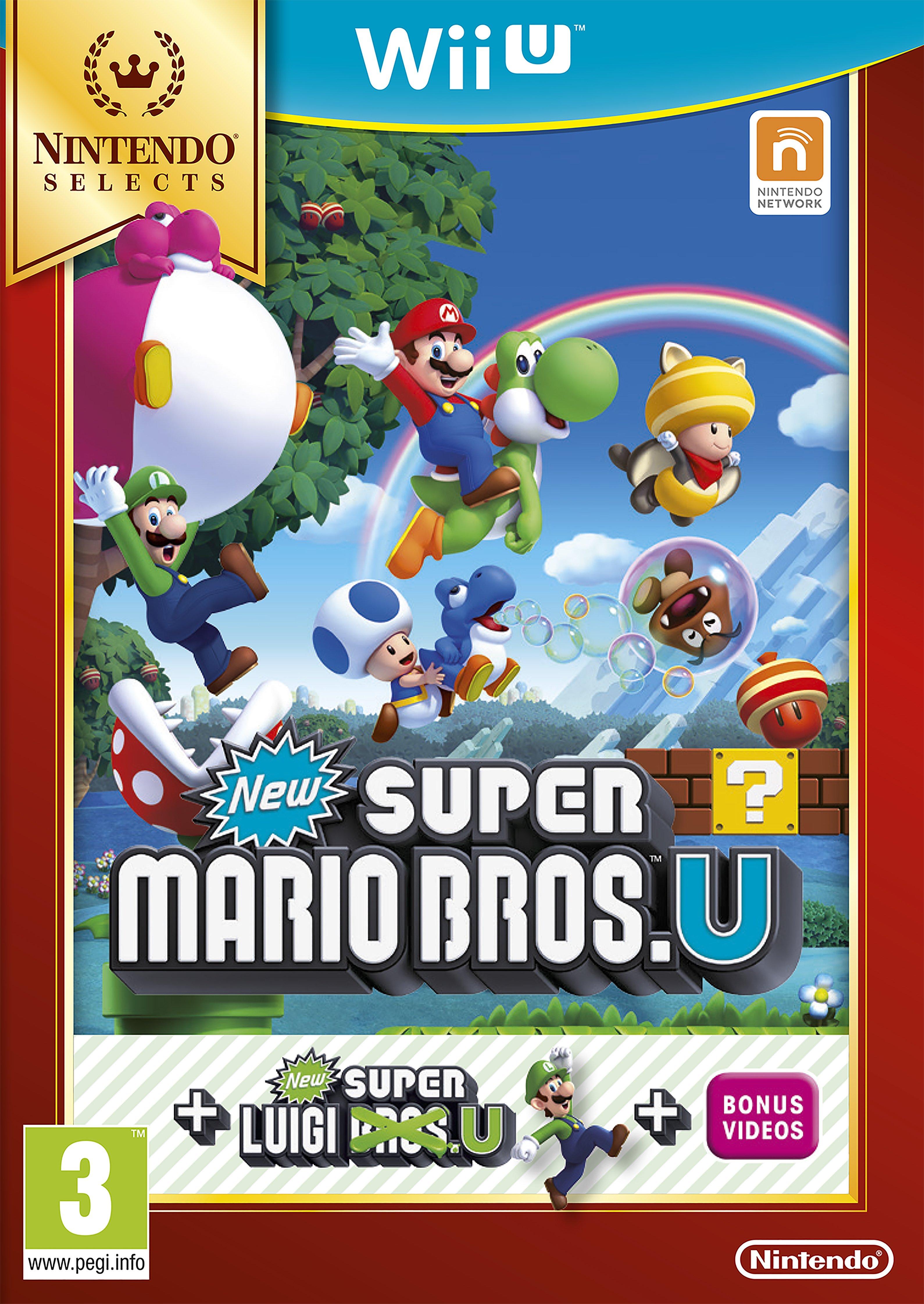 'Super Mario - Bros Super Luigi U - Nintendo - Wii U Game