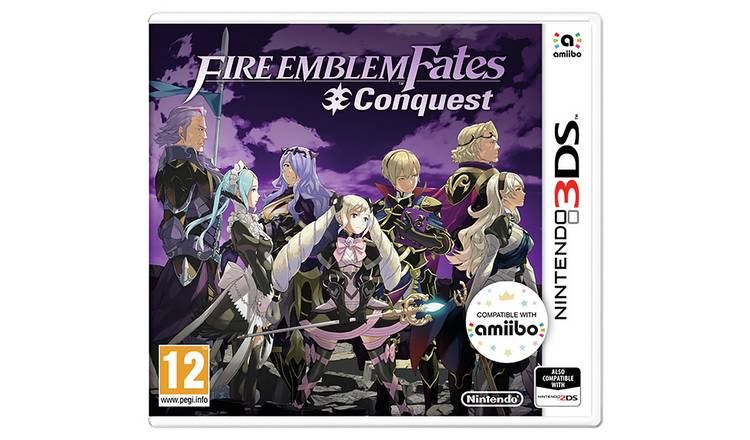 Fire Emblem: Fates Conquest Nintendo 3DS Game