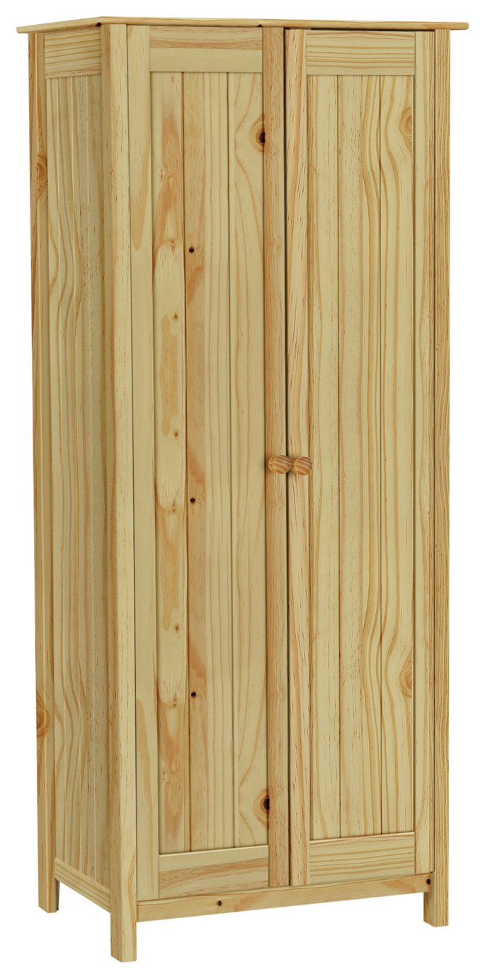 Argos Home Scandinavia 2 Door Wardrobe - Pine