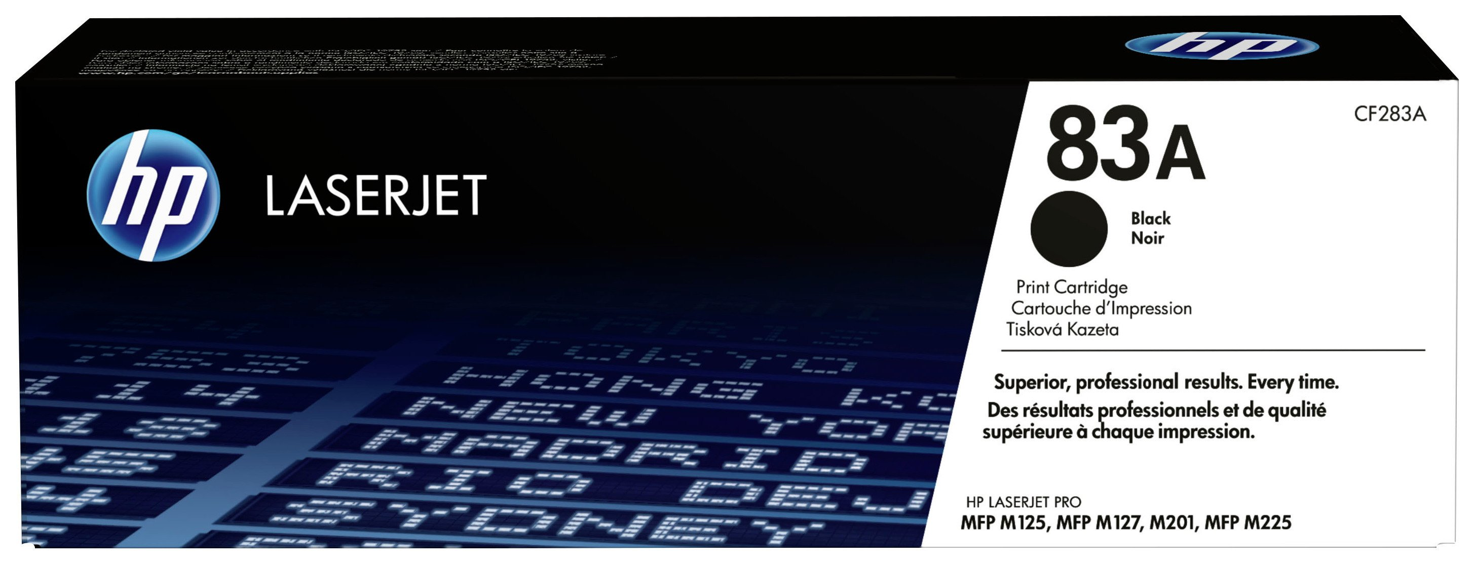 HP - 83A Black LaserJet - Toner Cartridge (CF283A)