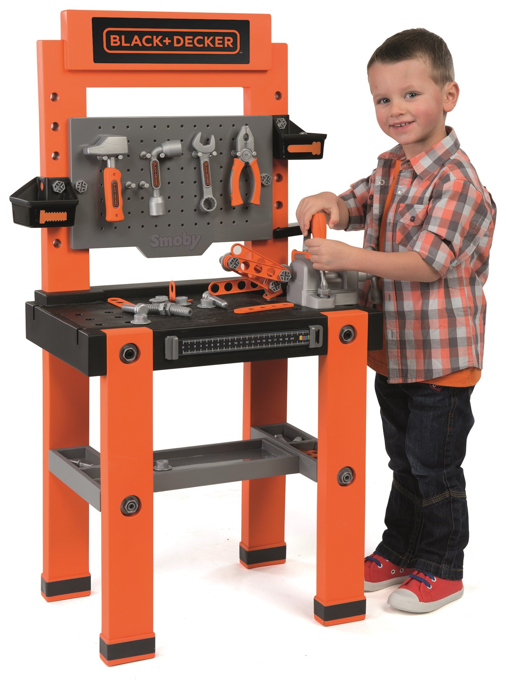 black and decker tools. smoby black \u0026 decker tool bench and tools a