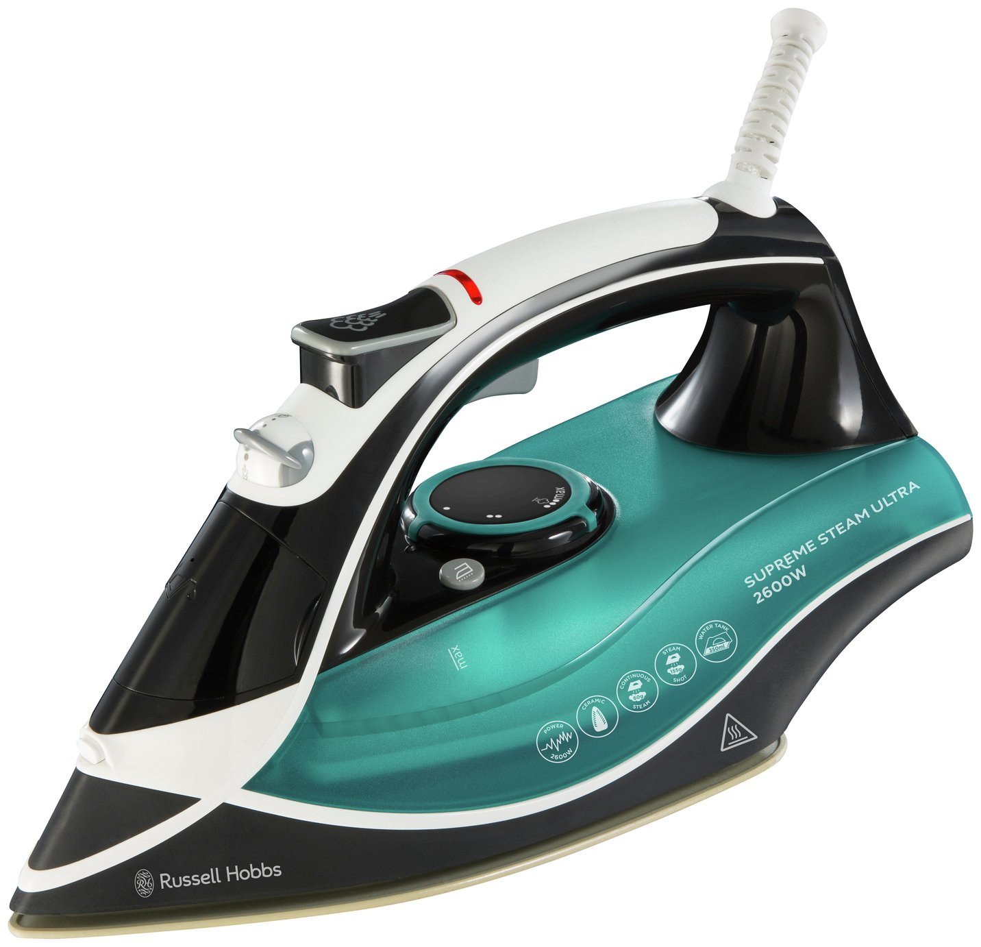Steam Iron For Clothes ~ Russell hobbs power steam pro clothes iron