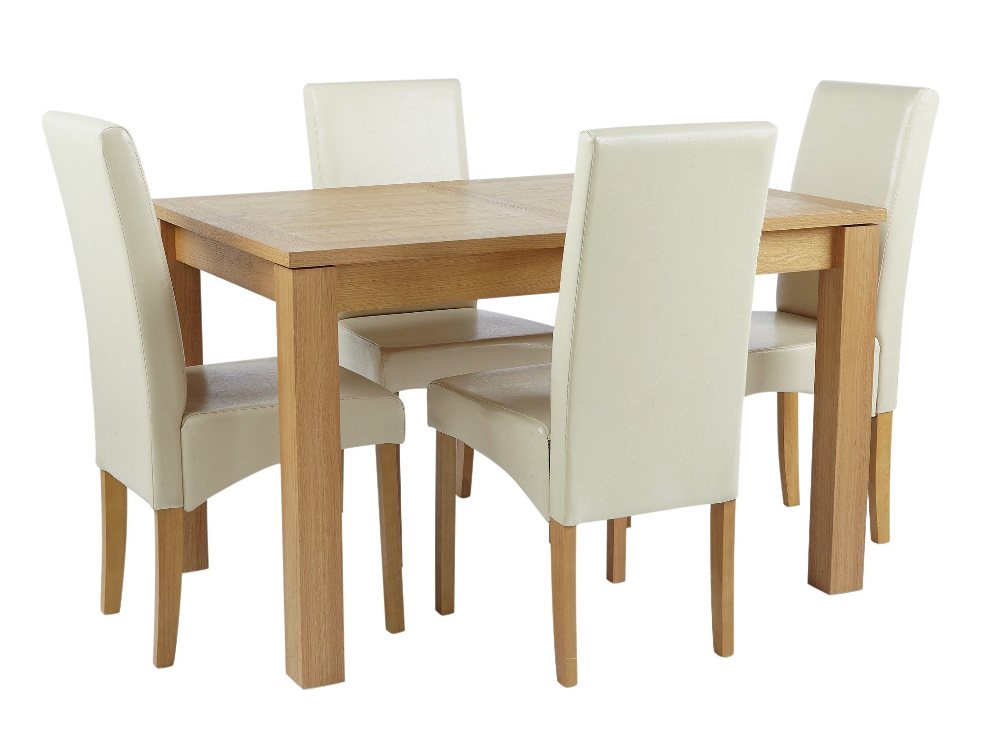 Collection swanbourne extendable table 4 chairs gay for 99 normal table