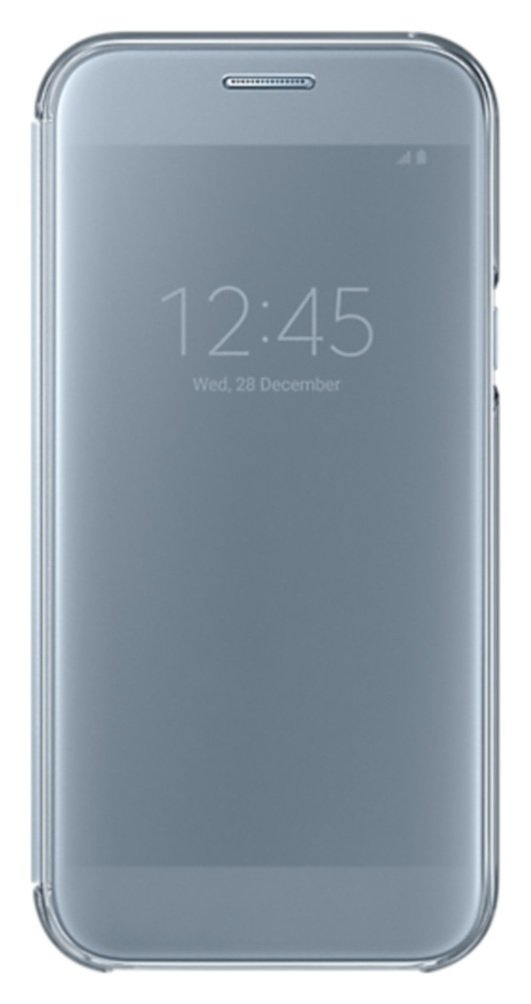 Samsung A5 2017 Clear View Cover - Blue.