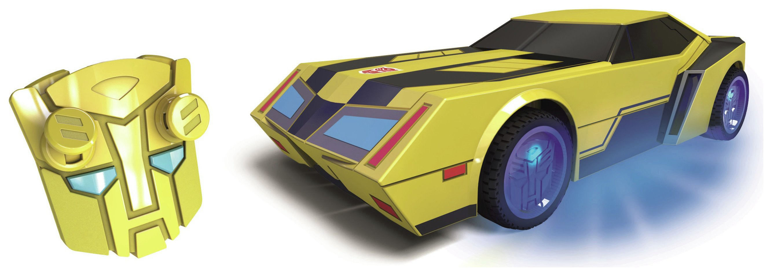 Image of Transformers Bumblebee Turbo Radio Controlled Car