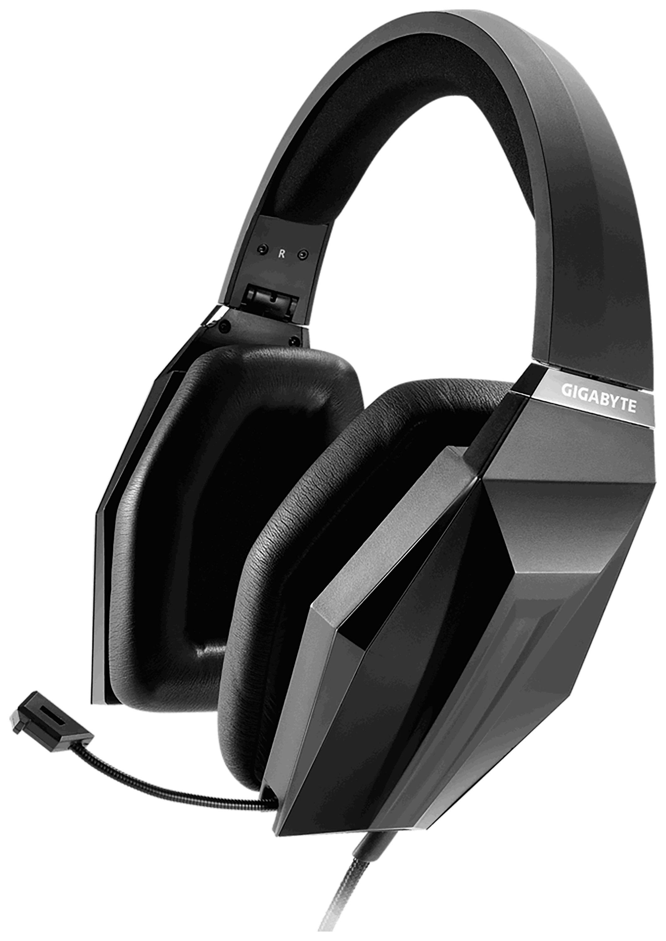 Image of Gigabyte Force H7 Black Wired Gaming Headset for PC