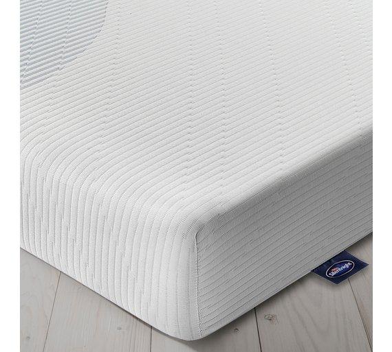 Buy Silentnight Memory Foam Rolled Double Mattress Mattresses