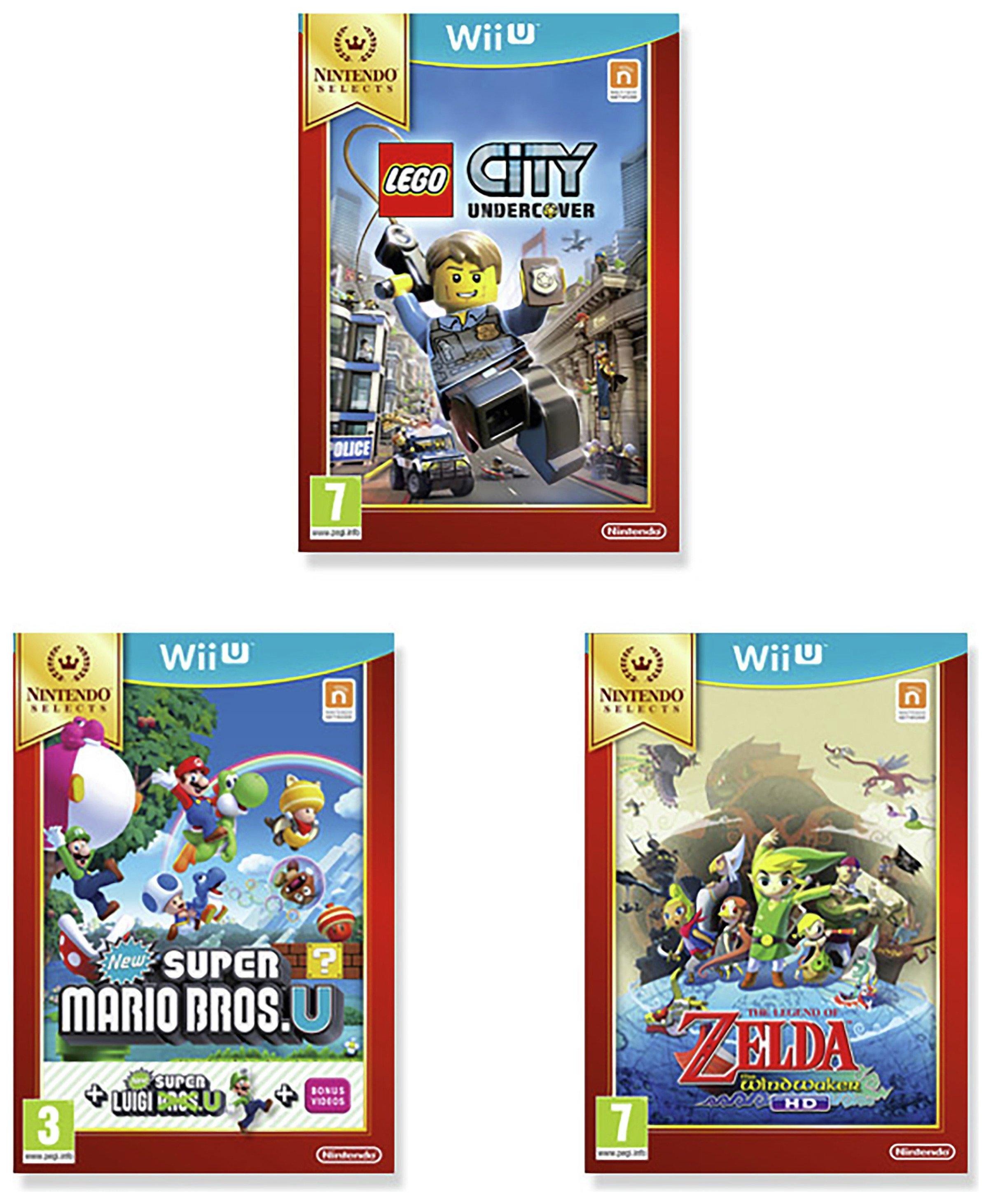 Nintendo Nintendo Wii U Selects Triple Games Pack.