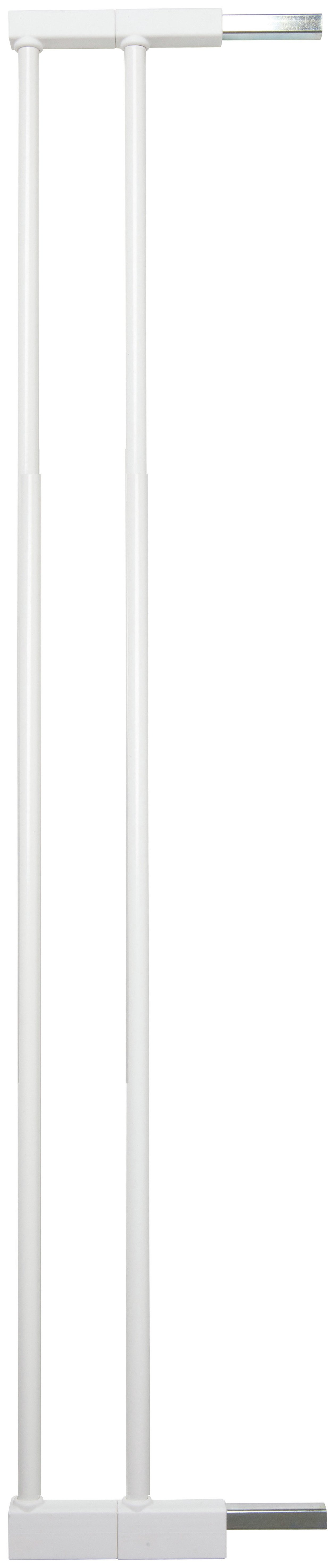 Scandinavian - Pet Design Tall Safety Gate - White.