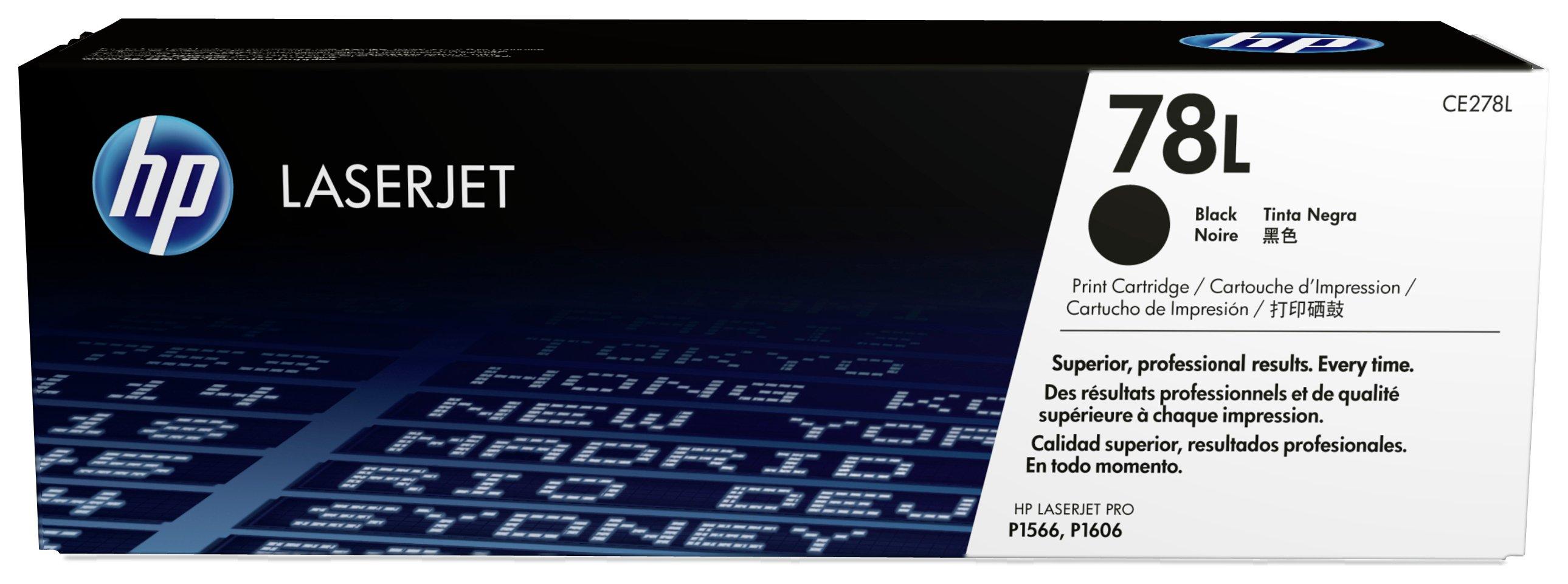 HP - 78L Economy Black LaserJet - Toner (CE278L)