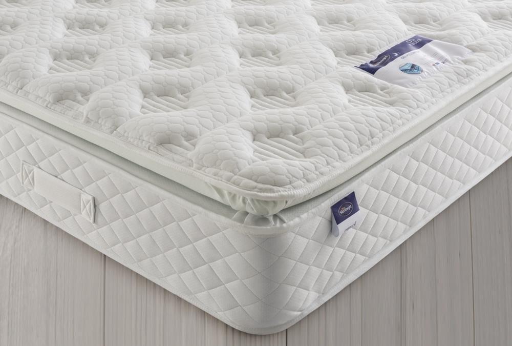 Silentnight Geltex Comfort Pillowtop Kingsize Mattress
