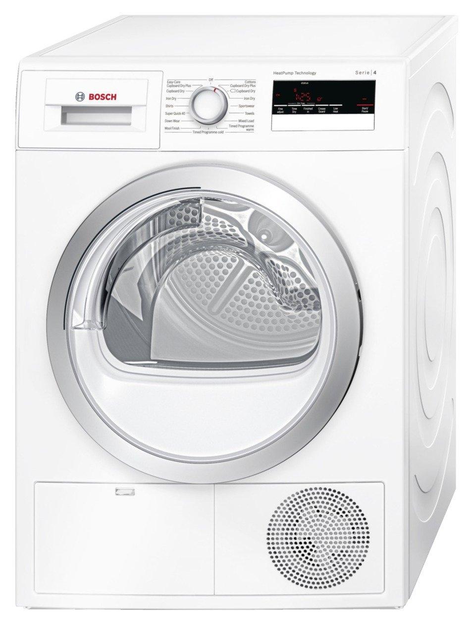 Bosch - WTH85200GB Condenser - Tumble Dryer - White