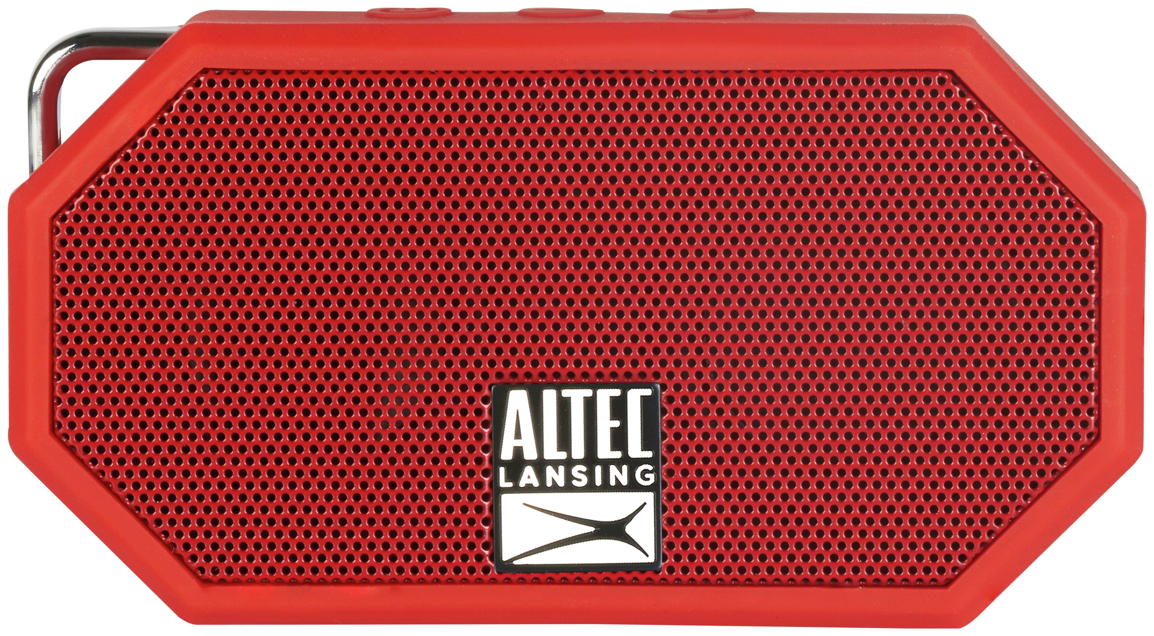 Altec Mini H2O II Wireless Portable Speaker - Red