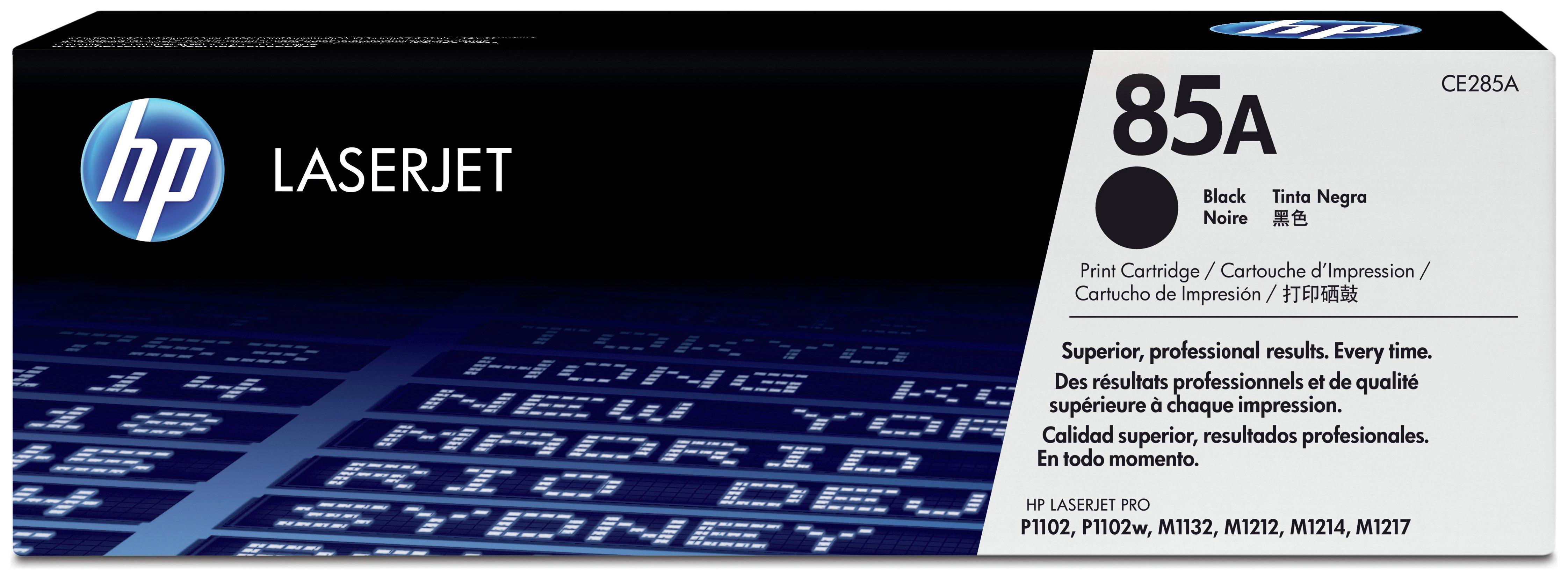 HP - 85A Black LaserJet - Toner Cartridge (CE285A)