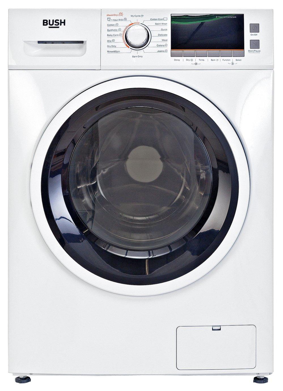 Bush WDNSX86W 8KG / 6KG 1400 Spin Washer Dryer - White