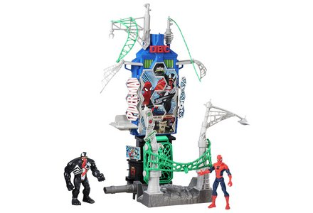 Spider-Man Web City Daily Bugle Battle