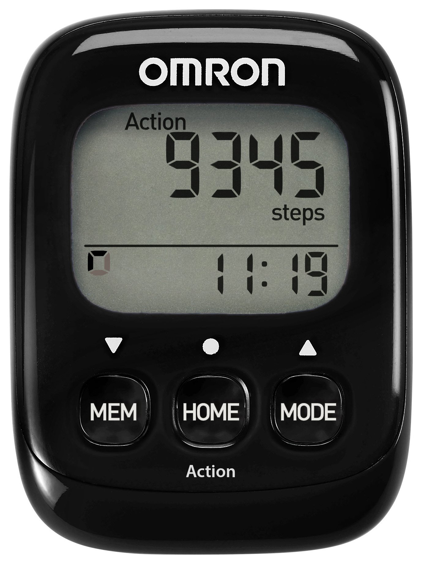 Omron Walking Style IV Pedometer BLK