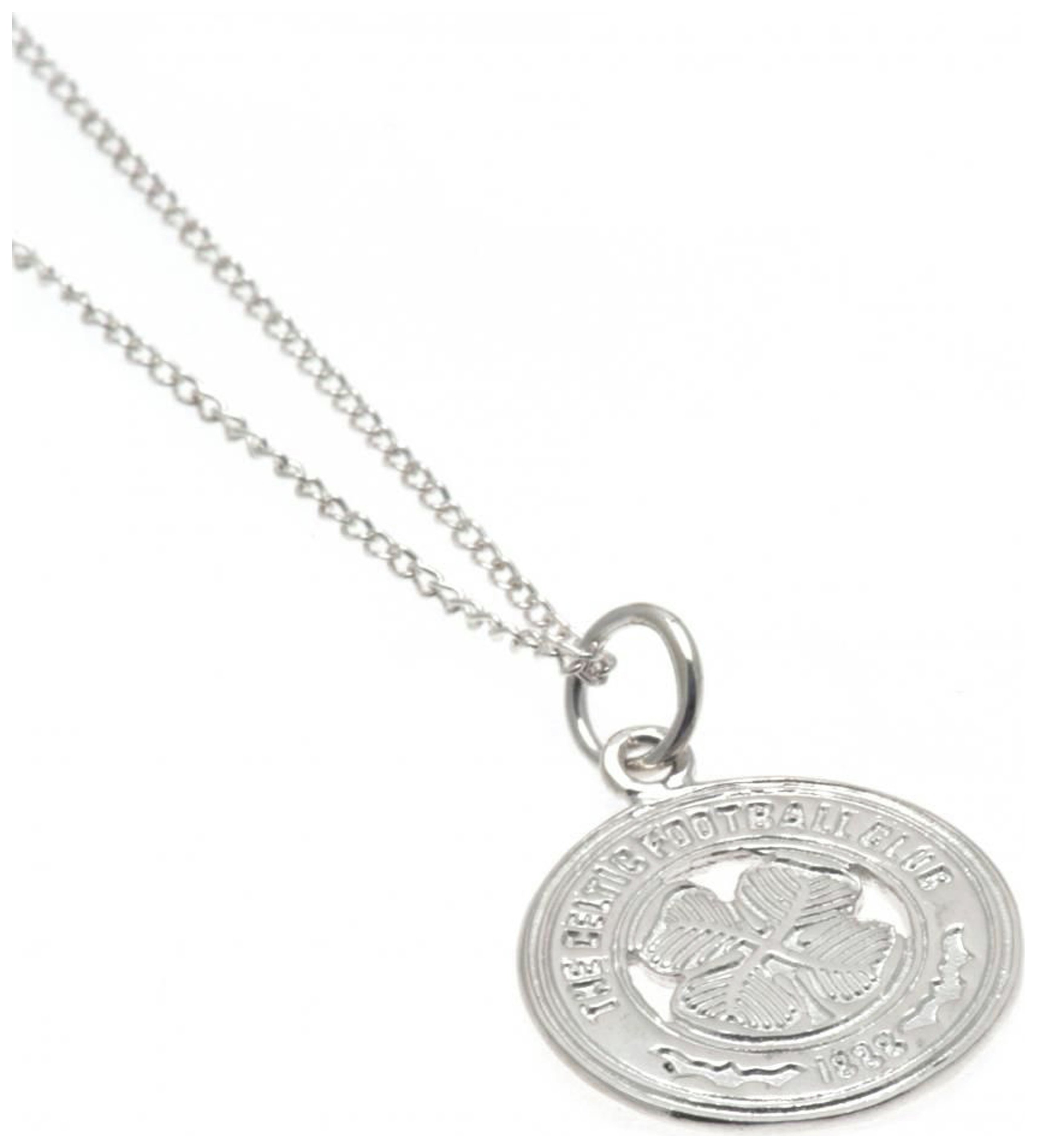 Image of Sterling Silver Chelsea FC Crest Pendant