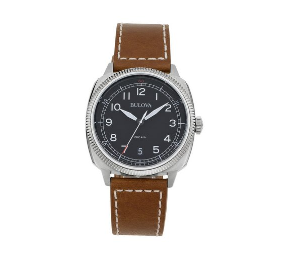buy bulova men s stainless steel military watch at argos co uk bulova men s stainless steel military watch544 1303