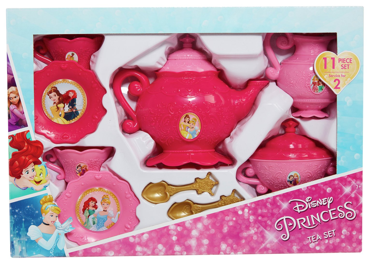 Image of Disney - Princess 11 Piece Tea Party Set