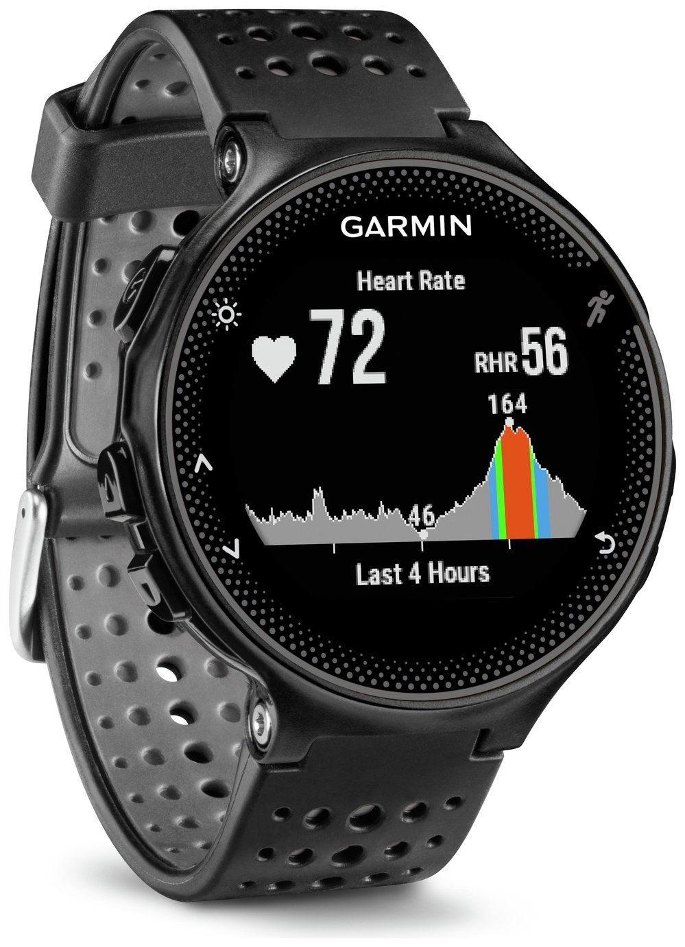 Garmin Forerunner 235 GPS HR Running Watch - Black/Grey