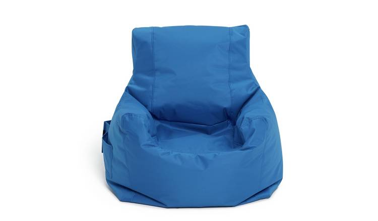 Buy Argos Home Large Blue Teenager Bean Bag Bean Bags